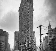 Flatiron Building by zl-photography