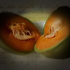 Melon Halves by Gilberte