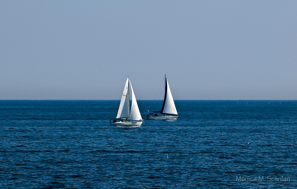 Sailing in New England by Monica M. Scanlan