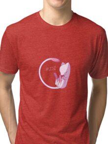 Sleeping Mew Tri-blend T-Shirt