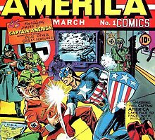 First Issue of Captain America by SpoilersCo