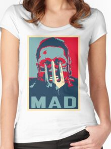 MAX ROCKATANSKY MAD Women's Fitted Scoop T-Shirt