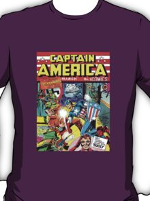First Issue of Captain America T-Shirt