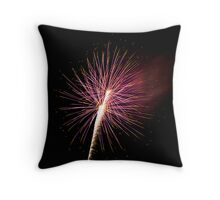 Bombs Bursting in Air Throw Pillow