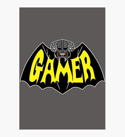 Gamer Photographic Print