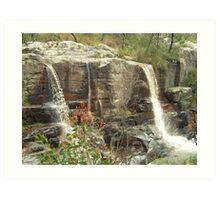 Turret Falls Art Print