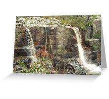 Turret Falls Greeting Card