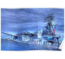 USS Cassin Young Poster