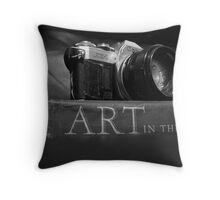 Art of the camera....... Throw Pillow