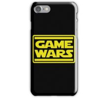 Game Wars iPhone Case/Skin