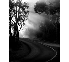 A Bend in the Road Photographic Print