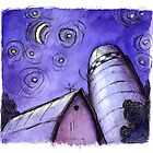 Night Barn by joehox