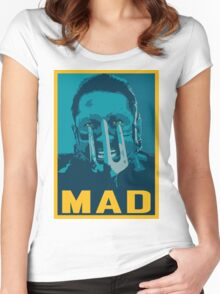 Max Rockatansky MAD (furycolor 1) Women's Fitted Scoop T-Shirt