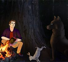 Sterek - Lost in the woods by LittleMagicFox