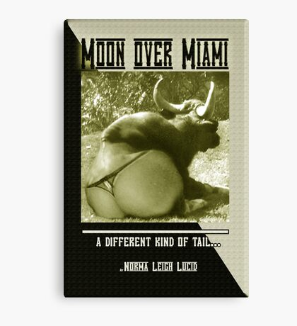 Bull Poop Publishing Canvas Print