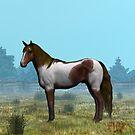 Misty Morning Pony by Walter Colvin