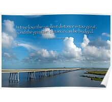 True Love Builds a Bridge Poster