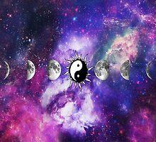Yin-Yang Moon by Katelyn Suttles