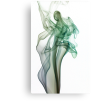 Dancing Smoke  Canvas Print