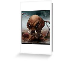 Horror Goomba Greeting Card