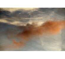 Clouds In Color Photographic Print