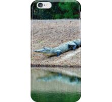 Happy Alligator iPhone Case/Skin