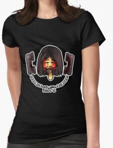 hotline miami martin brown Womens Fitted T-Shirt