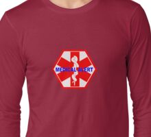 MEDICAL ALERT ID TAG  Long Sleeve T-Shirt