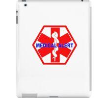 MEDICAL ALERT ID TAG  iPad Case/Skin