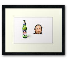 Hmmmm, Beer!! Framed Print