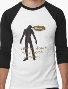 Vegan Zombies Men's Baseball ¾ T-Shirt