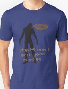 Vegan Zombies Unisex T-Shirt