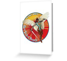 Red Tailed Angels Greeting Card