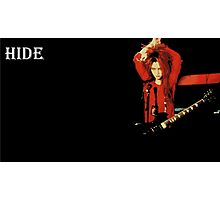 Hide (X Japan/Spread Beaver) Photographic Print