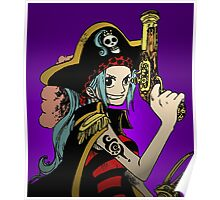 """One Piece: """"I'm Going to Be Queen of the Pirates!"""" Poster"""
