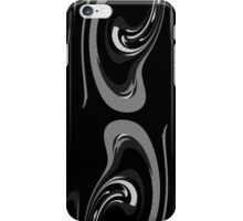Black, White, Gray Patterned Abstract iPhone Case/Skin