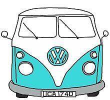 VW Bus by kayleesuniverse