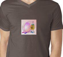 Two Scrambled Eggs - EGGsuberant Mens V-Neck T-Shirt