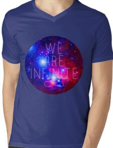 We Are Infinite Mens V-Neck T-Shirt