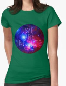 We Are Infinite Womens Fitted T-Shirt