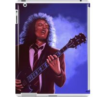 Angus Young of AC / DC painting iPad Case/Skin