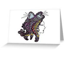 Lady 2 Greeting Card