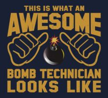 This is What an Awesome Bomb Technician Looks Like Retro Kids Clothes