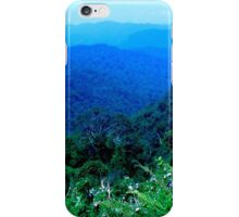 Magnificant Malaysian Jungle Mountain View iPhone Case/Skin