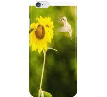 Humming Sunflower iPhone Case/Skin