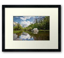 Reflecting Scenery Framed Print