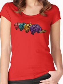 Zebrapotamus V.02 Women's Fitted Scoop T-Shirt