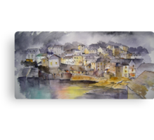 Port Isaac Evening Canvas Print