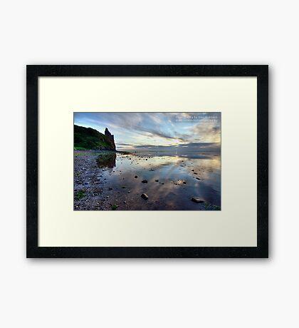 Castle View Framed Print