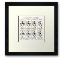 Indica Roots Poster Art Framed Print